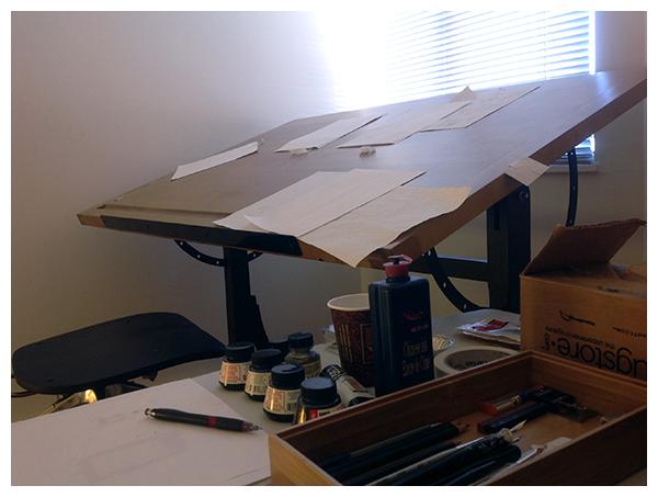 It's my desk....
